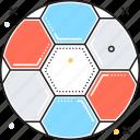 ball, football, game, soccer ball, sport icon