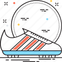 footwear, gym shoes, running shoes, sneaker, sports shoes icon