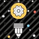 bulb, creative idea, idea, innovation, lightbulb icon