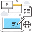 coding, development, interface, programming, web icon