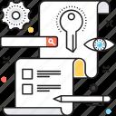 keyword, meta tags, search engine, seo, seo tags icon