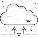 cloud computing, cloud connection, cloud network, cloud sharing, share icon