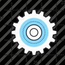 cog, cogwheel, gear, optimization, setting icon