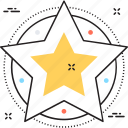 features, feedback, rating, review, star icon