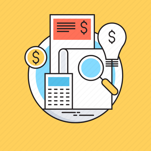 Accounting, banking, bill, bookkeeping, calculator icon - Download on Iconfinder