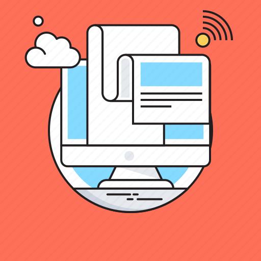Media, news, newsletter, newspaper, press icon - Download on Iconfinder