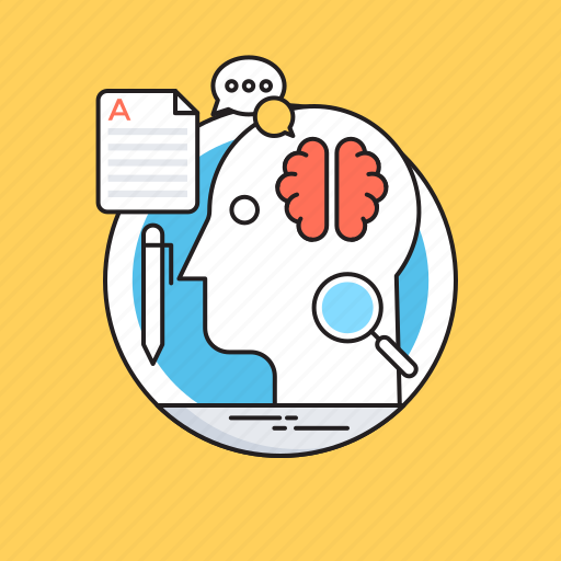 brain, brain exercise, brain training, brainstorming, research icon