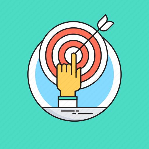 Bullseye, dartboard, goal, mission, target icon - Download on Iconfinder