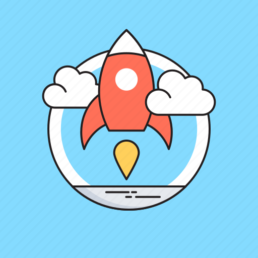 Launch, missile, rocket, spaceship, startup icon - Download on Iconfinder