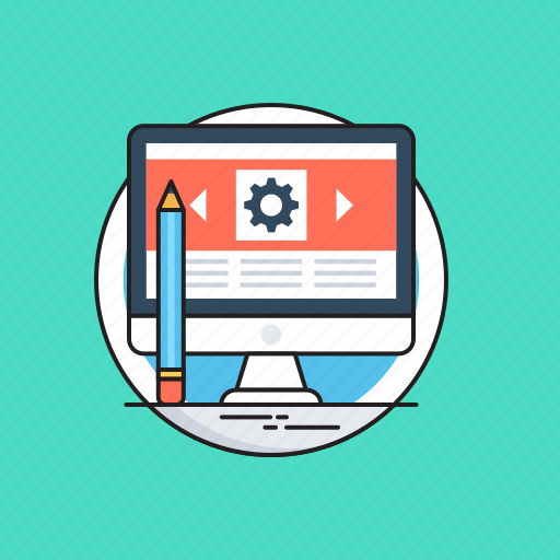 blog management, blogging, content, marketing, seo icon