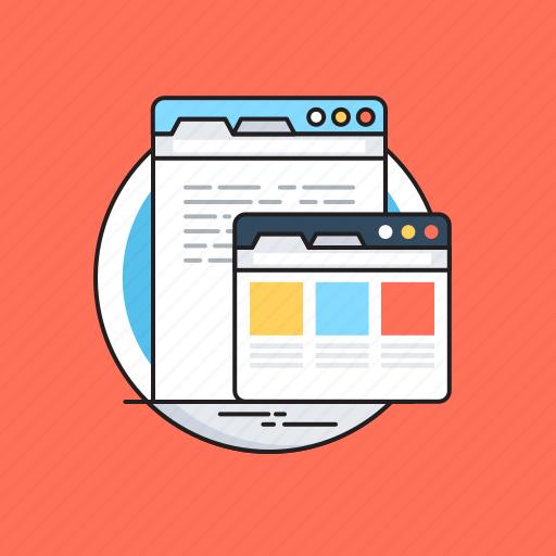 Browser, web, web development, website, wireframe icon - Download on Iconfinder