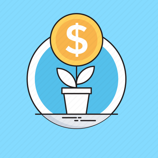 Business, growth, investment, money plant, plant icon - Download on Iconfinder
