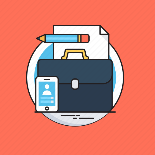 Admin, briefcase, management, portfolio, seo icon - Download on Iconfinder