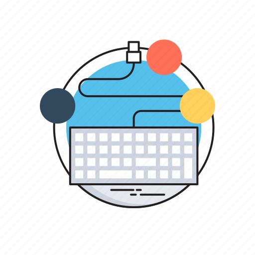 coding, html, keyboard, programing, web development icon