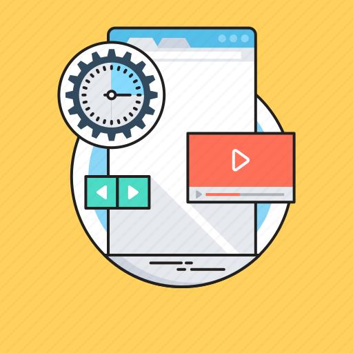 coding, configure, multimedia, processing, web development icon