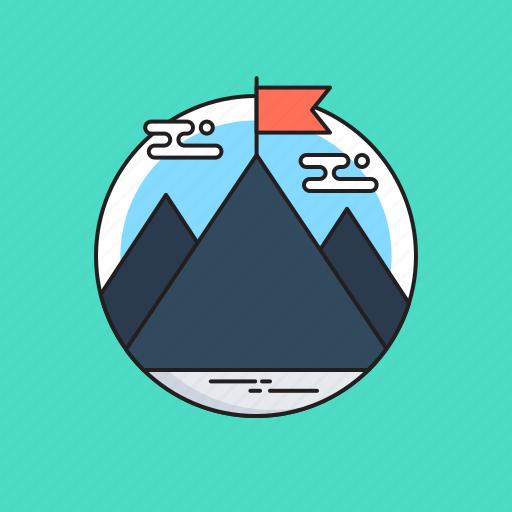 Achievement, challenge, mission, peak, success icon - Download on Iconfinder
