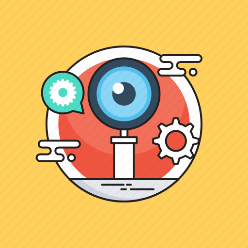 analysis, magnifier, monitoring, search, view icon