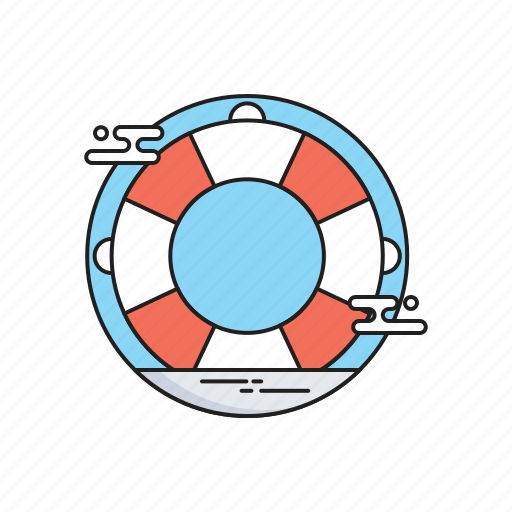 Lifebuoy, lifeguard, lifesaver, save guard, support icon - Download on Iconfinder