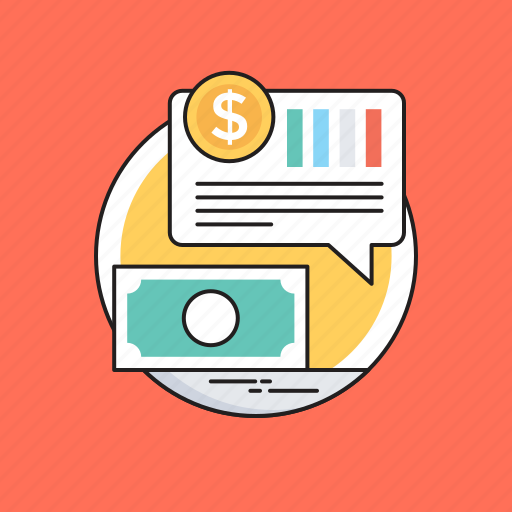 business, dollar, finance, marketing, papermoney icon