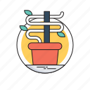 business growth, growth, money plant, plant, promotion icon