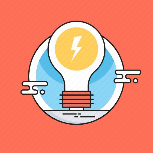 bulb, electric bulb, idea, light, solution icon
