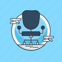 chair, manager, manager seat, office chair, seat icon