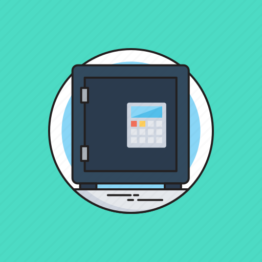 Bank locker, locker, money security, safe box, safe deposit icon - Download on Iconfinder