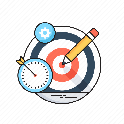 Bullseye, define the goal, goal, hit, target icon - Download on Iconfinder