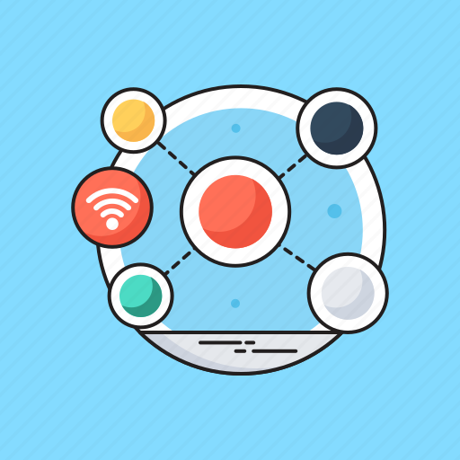 network share, share, share button, share content, social network icon