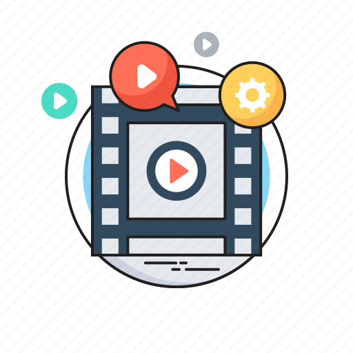 media, media player, multimedia, video marketing, video player icon