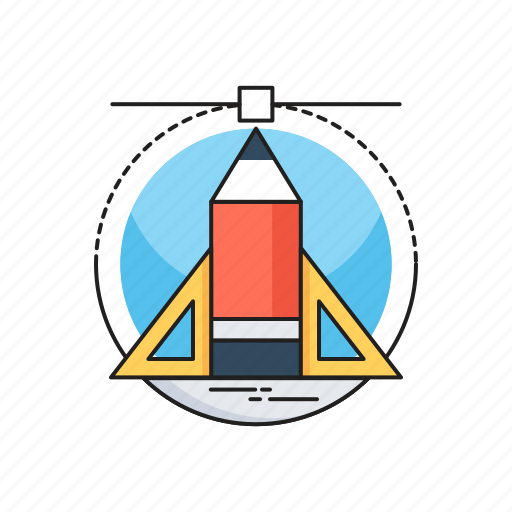Designing, draft tools, illustration, pen tool, vectors icon - Download on Iconfinder