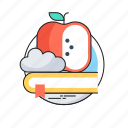 book, education, learning, nutrition, study icon