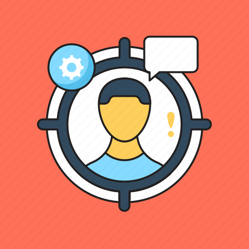 Customer target, intention, marketing, target audience, user icon - Download on Iconfinder
