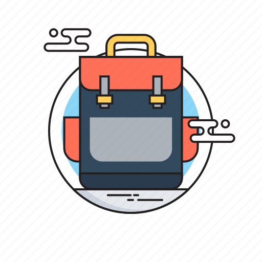 Bag, first class, school, school bag, study icon - Download on Iconfinder
