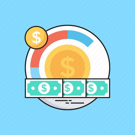 Banknote, coins, dollar, money management, paper money icon - Download on Iconfinder