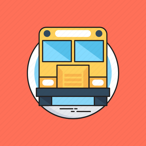 Bus, school bus, transport, travel, vehicle icon - Download on Iconfinder