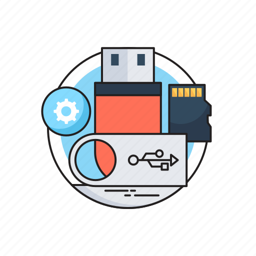 Memory card, pen drive, sd card, storage, usb icon - Download on Iconfinder
