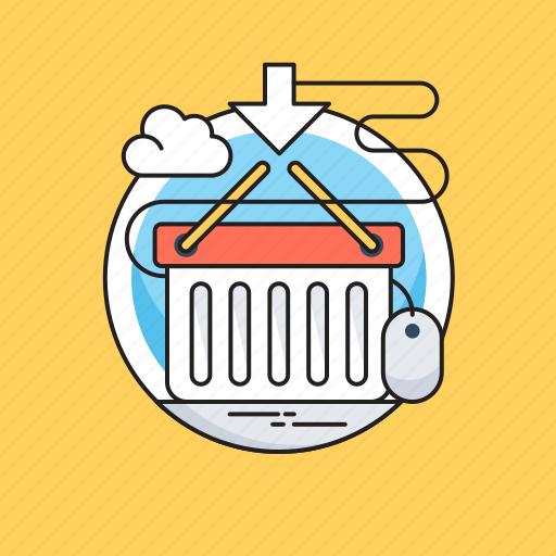 Add to basket, basket, ecommerce, eshop, shopping icon - Download on Iconfinder