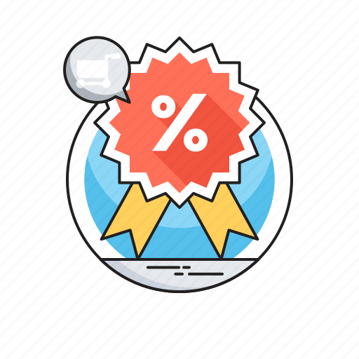 Discount, offer, percentage, promotional offer, sale icon - Download on Iconfinder