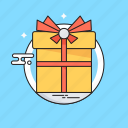 gift, gift box, hamper, present, surprise icon