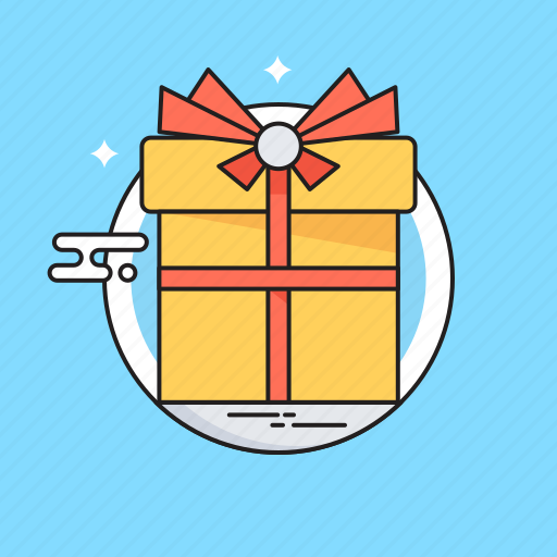Gift, gift box, hamper, present, surprise icon - Download on Iconfinder