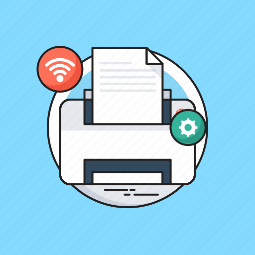 Facsimile, fax, office supplies, printer, printing machine icon - Download on Iconfinder