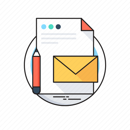 Branding, document, email, pencil, product icon - Download on Iconfinder