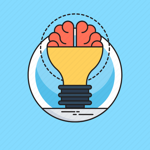 Brain, brainstorming, bulb, creative idea, innovative icon - Download on Iconfinder