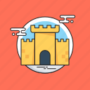 castle, castle building, castle tower, fortress, medieval