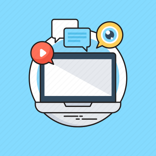 Chat bubble, digital marketing, marketing, media, social icon - Download on Iconfinder