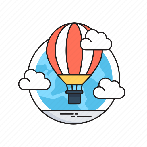 Air balloon, clouds, discover, hot air balloon, sky icon - Download on Iconfinder