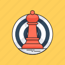 chess, chess pawn, marketing, planning, strategy icon