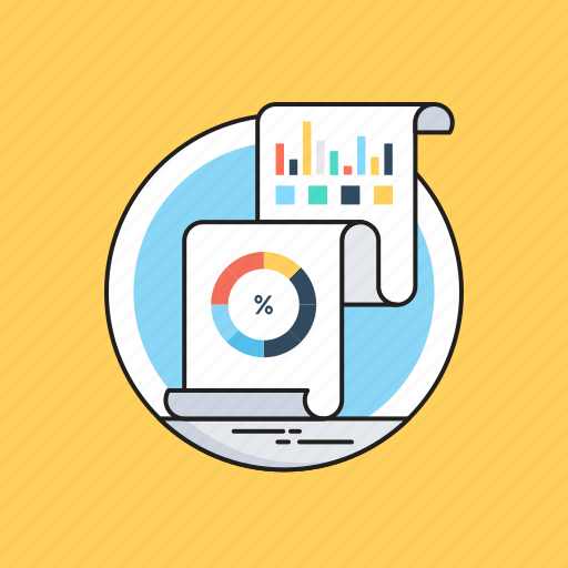 Analytics, graph report, report, statistics, visual data icon - Download on Iconfinder