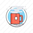 coffee, hot drink, take a break, tea break, tea cup